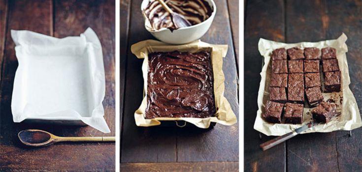 Zo maak je chocolade fudge brownies: http://www.libelle.nl/koken/chocolade-fudge-brownies
