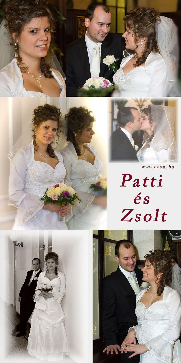 Esküvői fotók a házasságkötő teremben http://www.bodai.hu