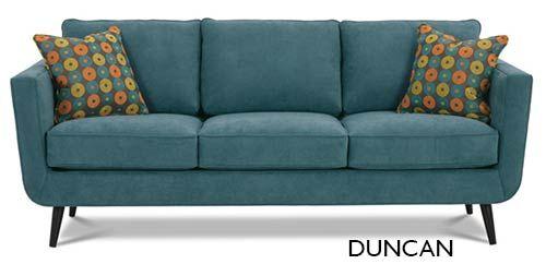 mid century sofa, Rowe furniture