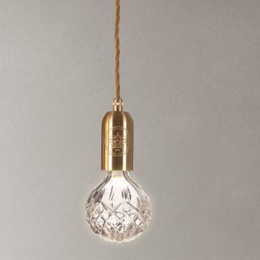 Buy Lee Broom Clear Crystal Bulb and Pendant | John Lewis