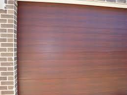 caoba colorbond - garage door