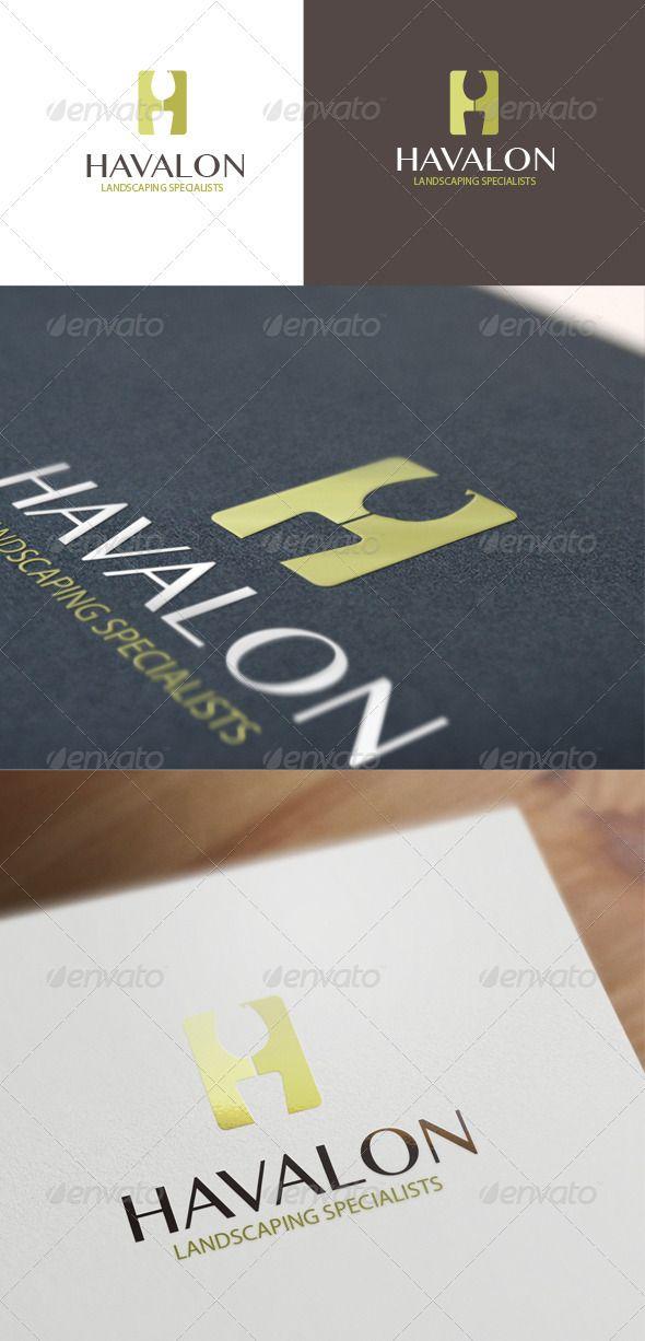 Havalon Logo Design - GraphicRiver Item for Sale