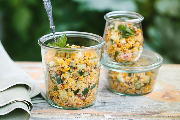 Orientalischer Bulgur-Linsen-Salat • KRAUTKOPF