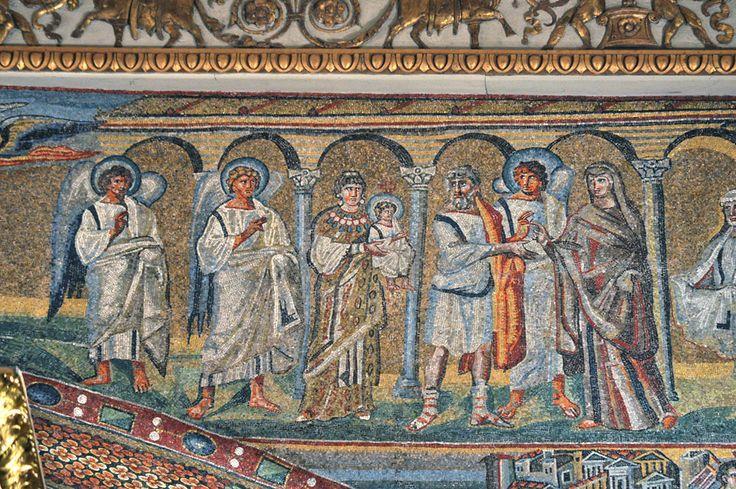 Santa Maria Maggiore, Roma, I mosaici , 432-440. Foto di Pavel Otdelnov