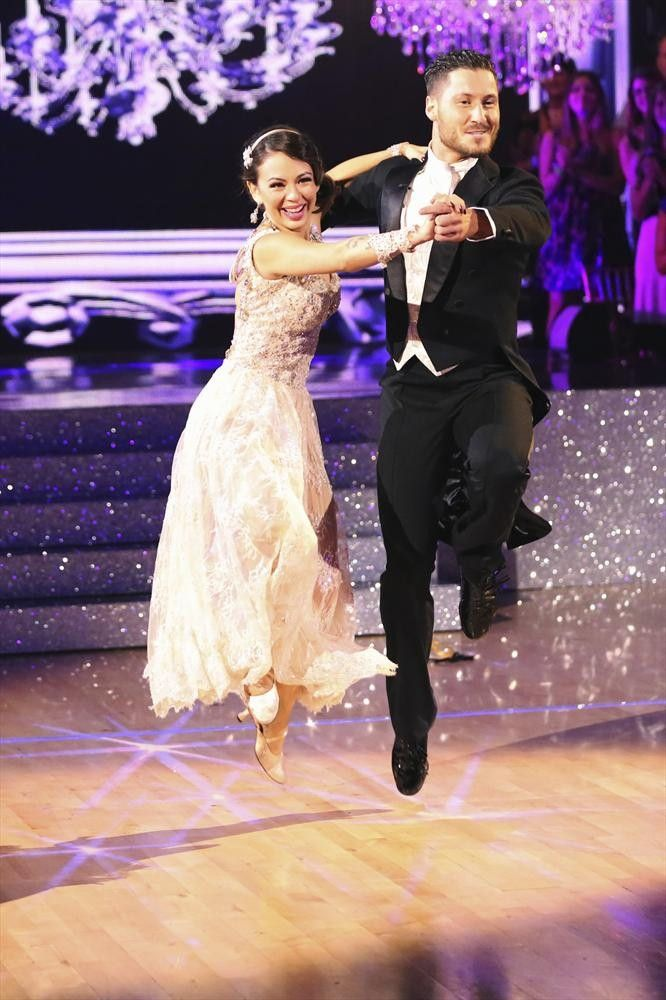 Dancing With the Stars 2014: Janel Parrish and Val Chmerkovskiy's Week 4 Rumba