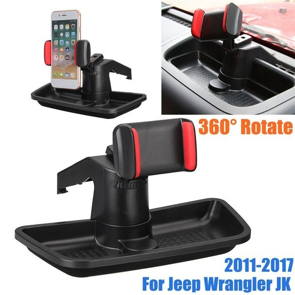360 Rotate Mobile Cell Phone Holder Storage Box For Jeep Wrangler Jk 2011 2017 Wish Jeep Wrangler Cell Phone Holder Phone Holder
