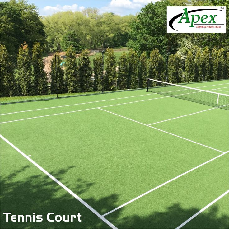 Apex tennis courts are classy and good to play on. Have