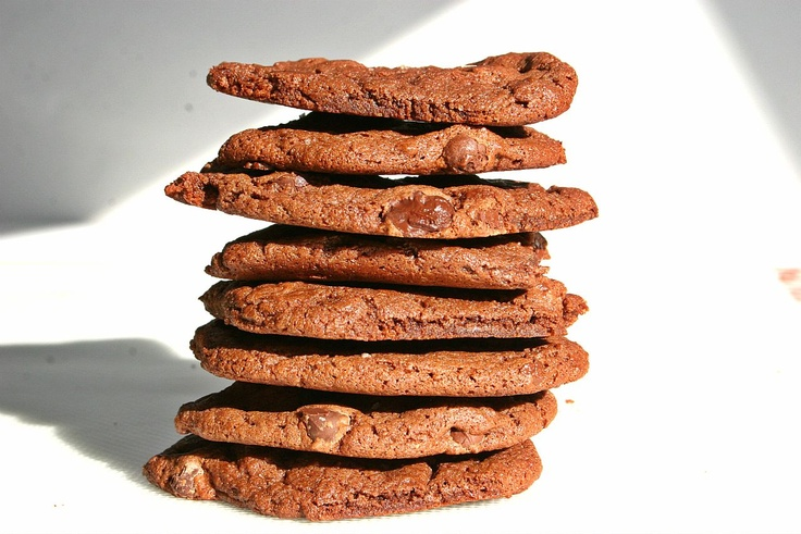 *Double Chocolate Chip Cookies