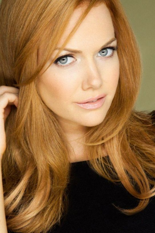 cute light auburn hair color