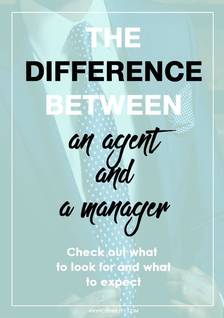 Learn the key differences between an agent and a manager. What can they do for your writing career?