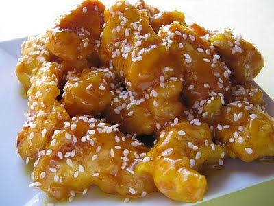 Honey Garlic Chicken. Family ate all of this and was fighting over the last few pieces.