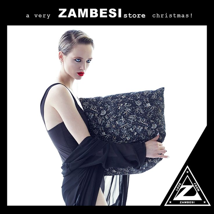 """""""rest their precious head with a cushion for their bed."""" - stuart, ZAMBESI melbourne #zamfam limited edition zambesi liberty print cushions are available in all ZAMBESI stores x"""