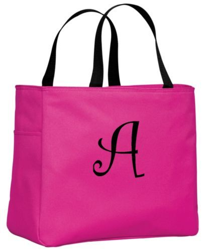 Personalized-Monogrammed-Embroidered-Tote-Bridesmaid-Gift-Bags-Bridal-Shower
