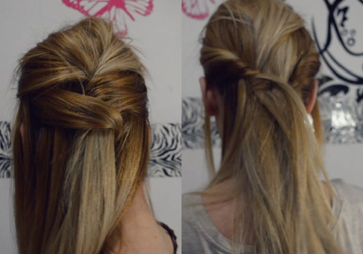 2 peinados semirecogidos, en menos de 5 minutos! ♥ -Mariafernandamv