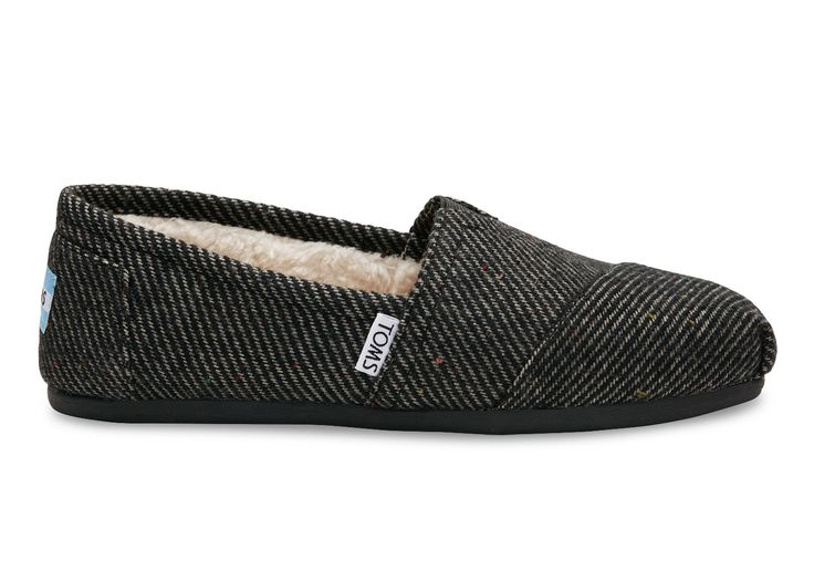 undefined Black and White Wool Women's Classics