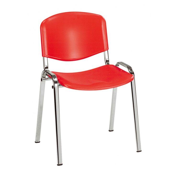 € 30,00 ISO-P #sedia per sala conferenze e sala da attesa certificata a norma di legge UNI EN 13761. Struttura in metallo se sedile/schienale in plastica. In #offerta #prezzo su www.chairsoutlet.com