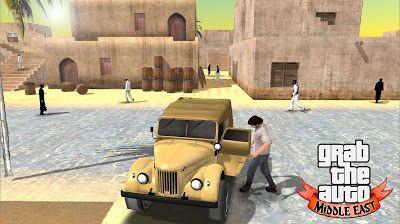 android Grab The Auto : Middle East arabic  الشرق الأوسط باللغة العربية