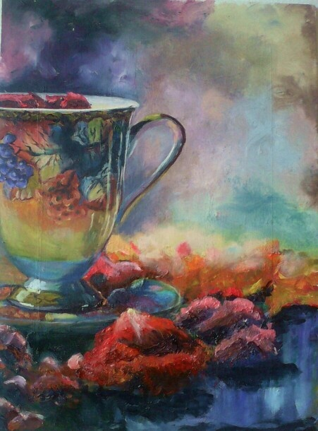 Study of the tea cup