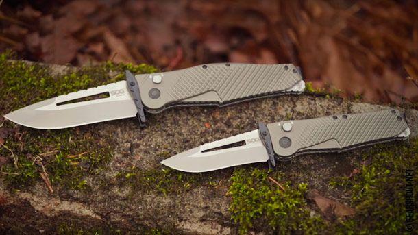 Gear Shout   Новые складные карманные ножи от SOG на 2016 год
