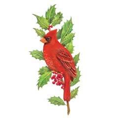 20+ Christmas Cardinal Free Clipart