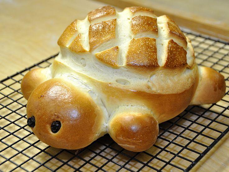 Oggi vi propongo una ricetta divertentissima che ho fatto con mio figlio Luca: il pane Tartaruga