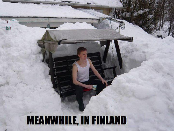 cold troll fun finland Finnish nationality