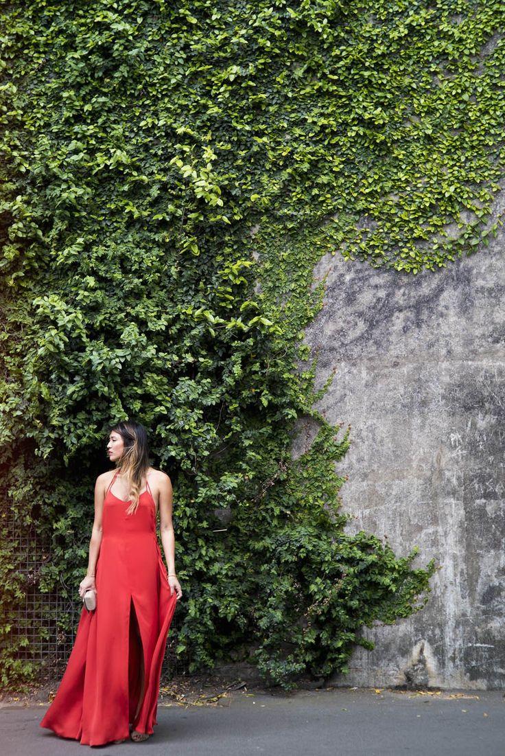 Lady in Red outfit post denimanddumplings.com.au  #OOTD #fashion #fashionblog #red