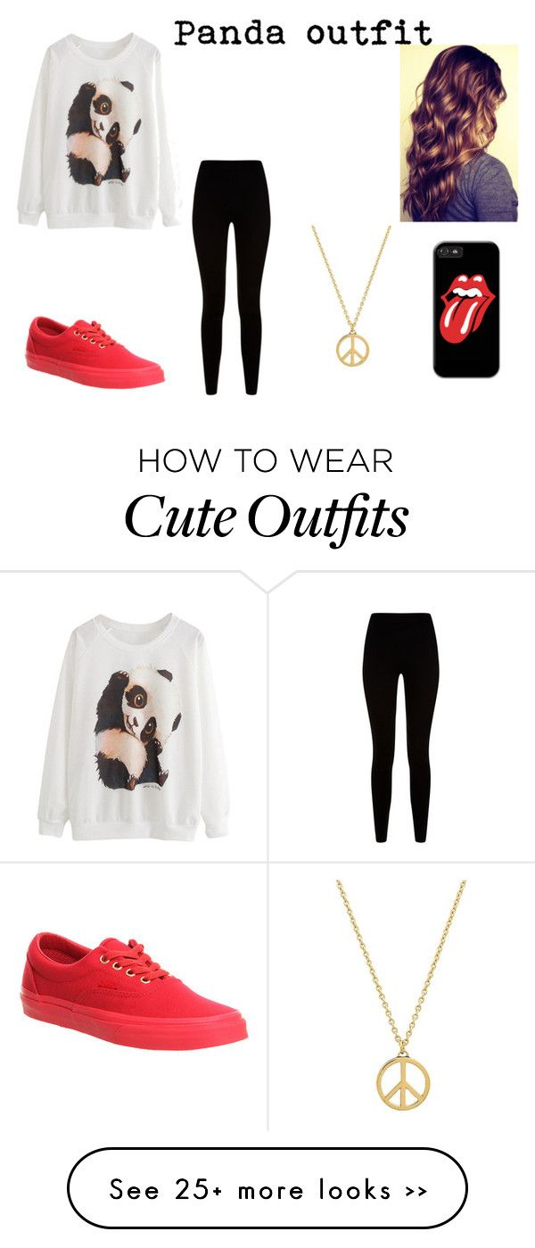 """""""Panda outfit"""" by ignoredpest on Polyvore"""