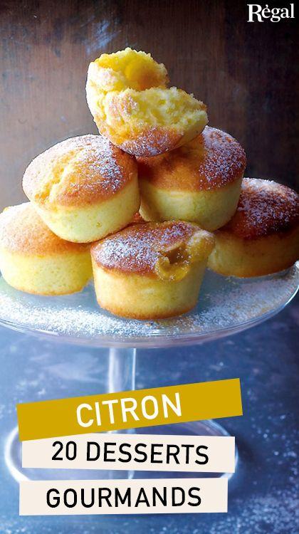 Nos desserts au citron sont à la fois gourmands et frais, avec leur touche acidulée… En général, ils mettent tout le monde d'accord ! Craquez pour l'une de nos douceurs au citron ; vos invités seront conquis. Pour une pâtisserie chic ou un goûter sur le pouce, faites votre choix (probablement l'étape la plus difficile !) parmi nos recettes gourmandes et faciles à préparer, aux citrons jaunes ou verts : biscuits sablés fourrés au lemon curd, soufflés et moelleux variés, mousses légères, crème…