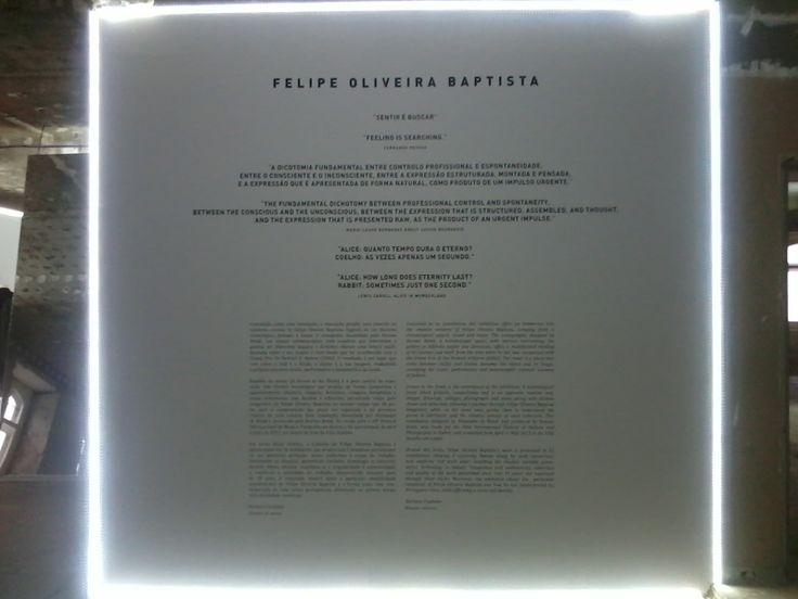 FELIPE OLIVEIRA BAPTISTA-SENTIR E BUSCAR (feeling and searching)