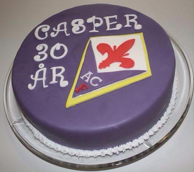 Fødselsdagskage til en fodboldfan