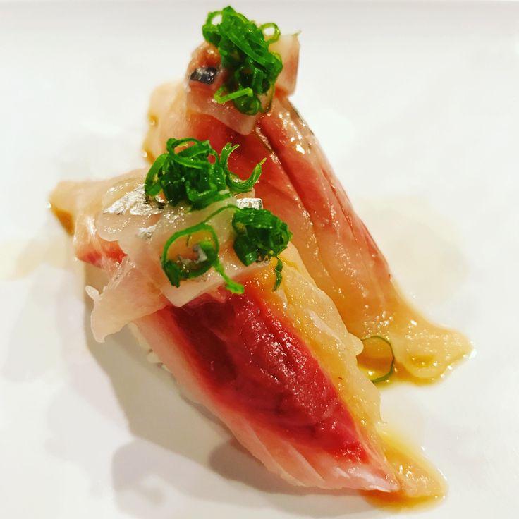 Spanish Mackerel #sushi #food #foodporn #japanese #Japan #dinner #sashimi #yummy #foodie #lunch #yum
