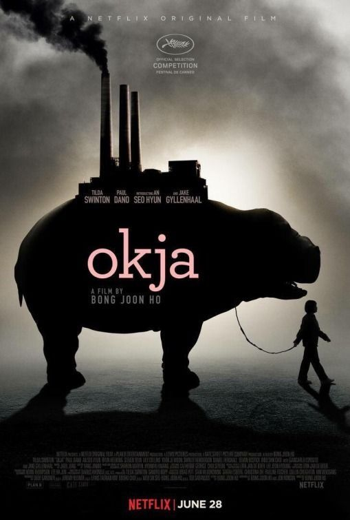 OKJA - a new film that shines a light on the unsettling reality of factory farming. Out on Netflix June 28. ****Everyone should see this****