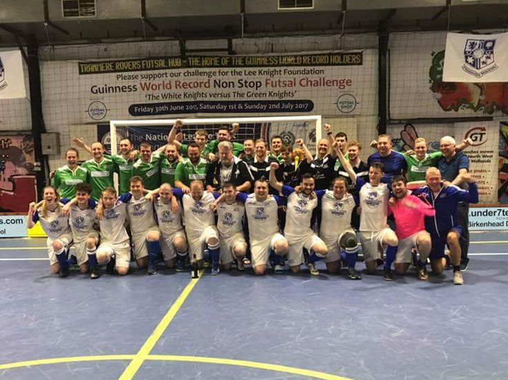 Over the weekend, a group of hardy Tranmere fans completed 50 hours of non-stop futsal in the attempt to break a World Record for the longest futsal match.
