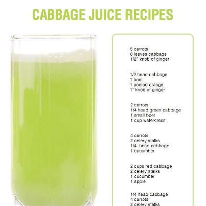 Cabbage Juice Slow Juicer : cabbage juice recipe