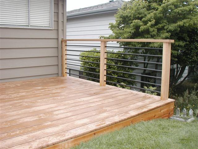 Railing Styles West Coast Decks Patio Ideas Deck
