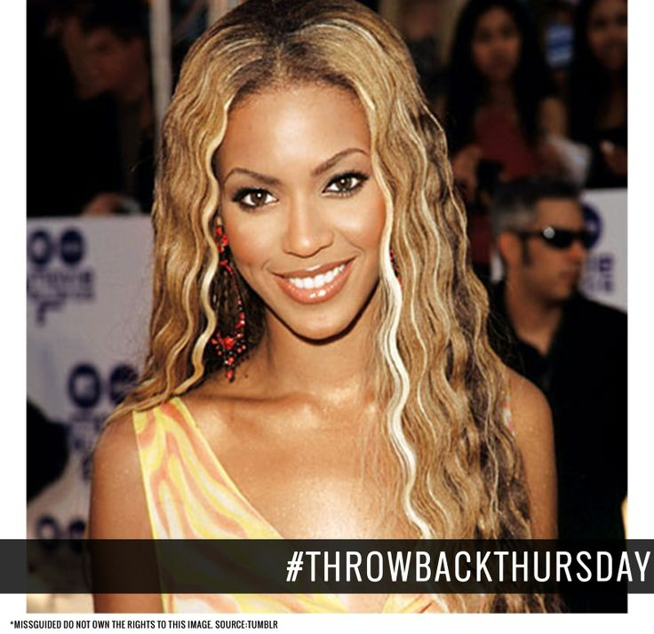 Our #Throwbackthursday is the Queen of RnB music Beyonce. Check out her look at the MTV Awards in 2000, looking good Bey! x #Missguided #Throwback #TBT #Beyonce