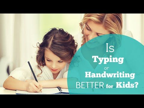 Every Chance to Learn | Do Kids Learn More From Handwriting or Typing?