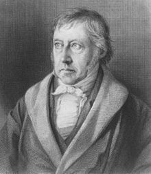 """Georg Wilhelm Friedrich Hegel - (August 27, 1770 – Nov. 14, 1831) German philosopher, one of the creators of German Idealism. His historicist and idealist account of reality as a whole revolutionized European philosophy and was an important precursor to Continental philosophy and Marxism. Influential conceptions: speculative logic or """"dialectic"""", """"absolute idealism"""", """"Spirit"""", negativity, sublation (Aufhebung), the """"Master/Slave"""" dialectic, """"ethical life"""" and the importance of history."""