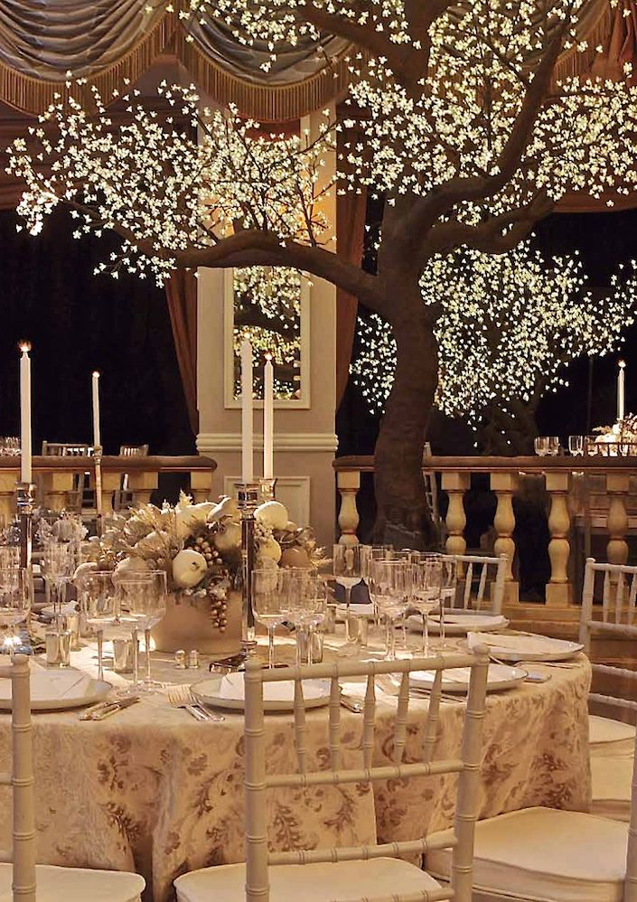 David Monn winter white wedding at the Pierre-1
