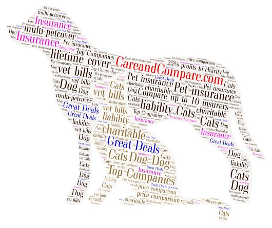 Compare great deals on #doginsurance via us AND we give 25% profits to charity at zero cost to customers! http://www.careandcompare.com/compare-pet-insurance
