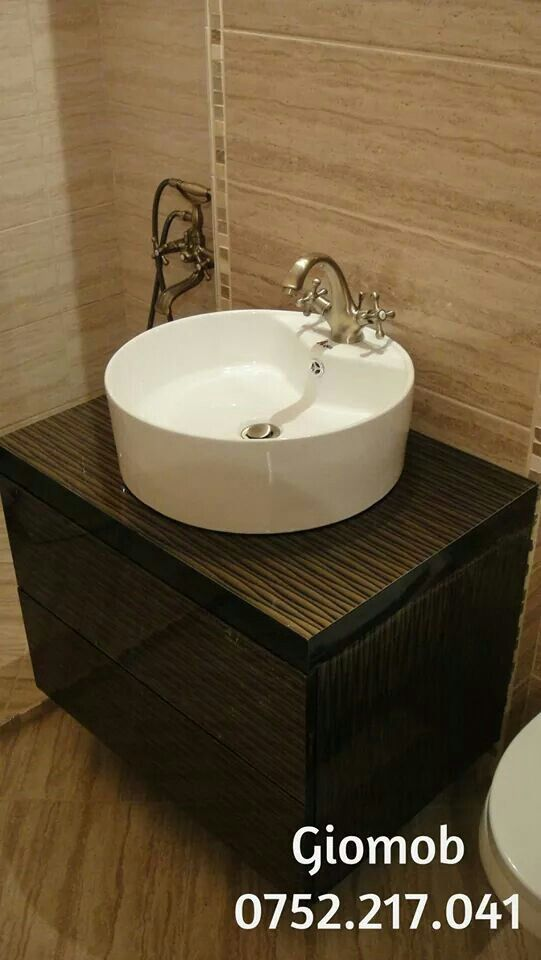 Giomob Brown bathroom furniture