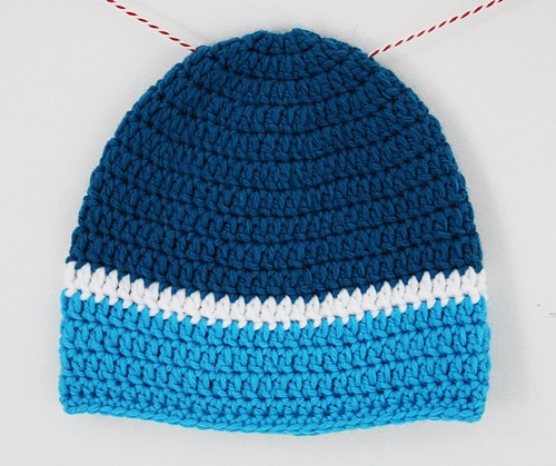 Crochet baby beanie nr 2!