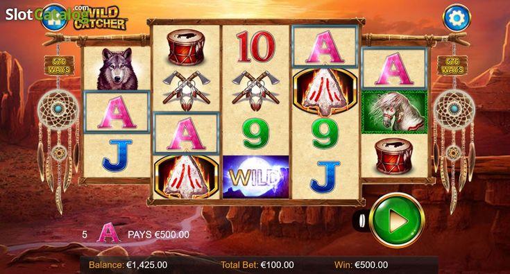 Wild Win screen. Wild Catcher(Video SlotfromWild Streak Gaming)