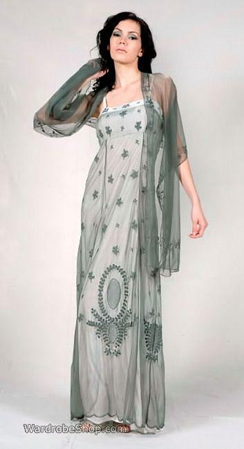 vintage style empire dresses