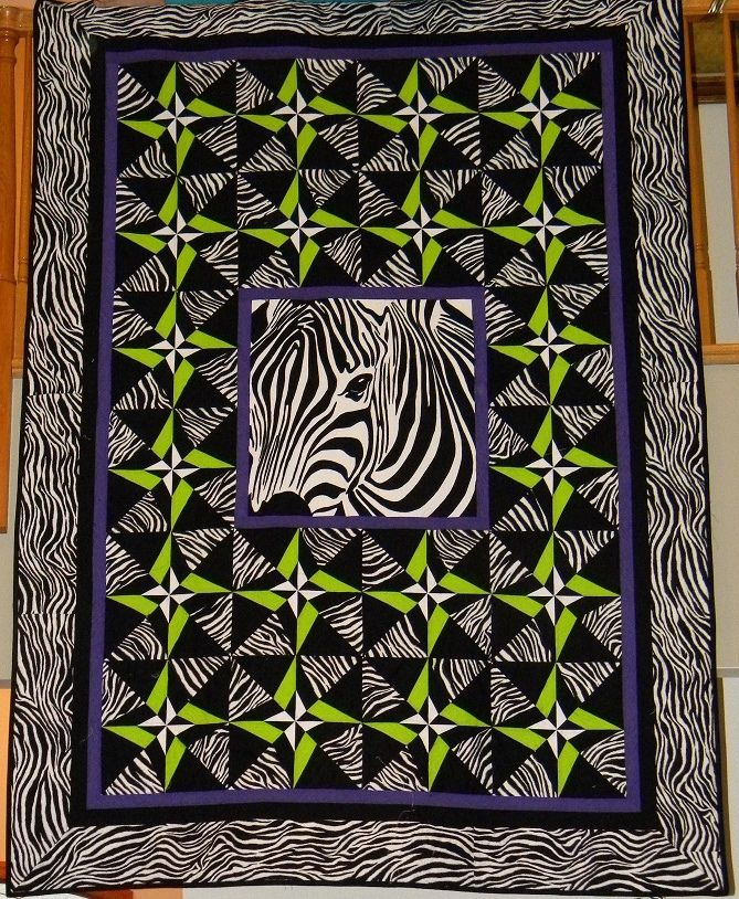 Zebra Quilt Art Quilts Quilts Quilting Designs