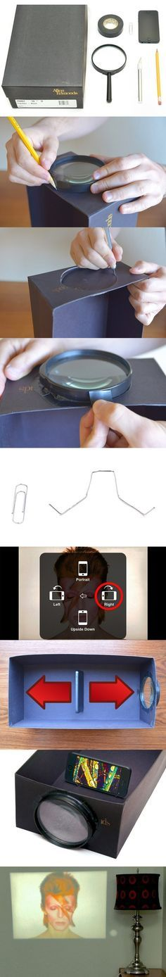 Homemade Smartphone Projector - Craft ~ Your ~ Home