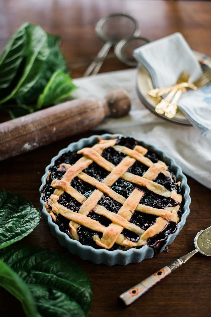 mulberry pie— Hannah Puechmarin