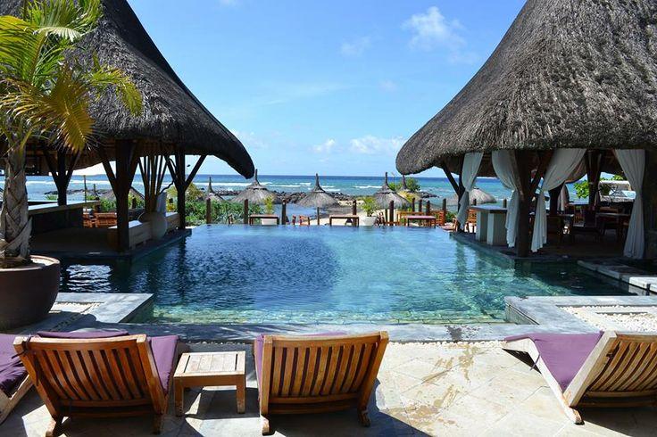 The Sandy Lane area at Veranda Pointe aux Biches, mauritius.  #resort #holiday #travel
