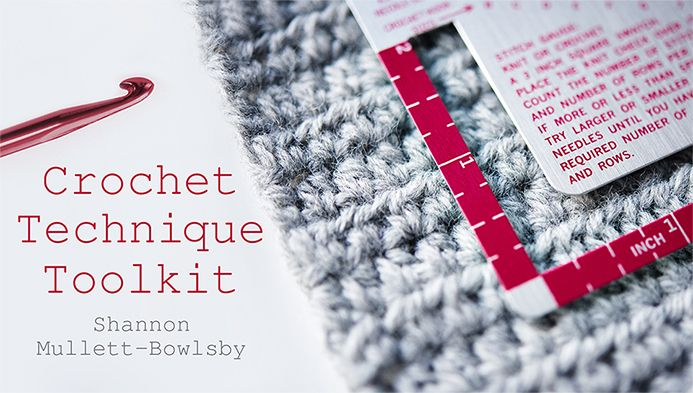 Crocheting Classes Online : Shannons Craftsy Crochet Class: Crochet Technique Toolkit. This class ...